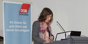 Silke Klos-Pöllinger, Regionsgeschäftsführerin DGB Schwaben