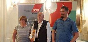 Antonie Schiefnetter, Wolfgáng Finkbeiner und Christian Müller