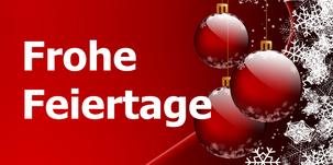 Frohe Feiertage, Weihnachtskugeln